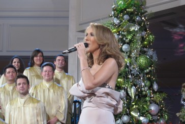 """Celine Dion """"Happy Christmas and Happy New Year (War Is Over)"""" +lyrics"""